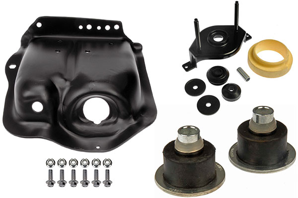 dorman shock and strut mounting components