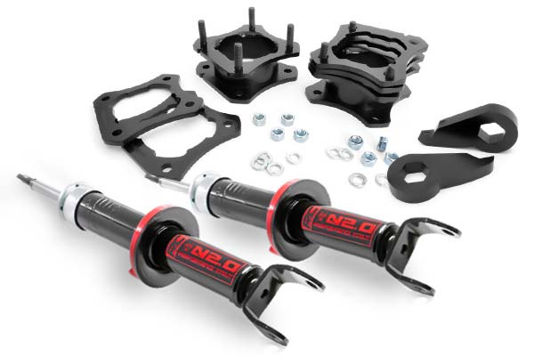 2007 Jeep Wrangler Rough Country Leveling Kits