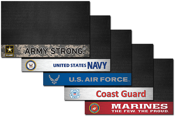 fanmats military grill mats