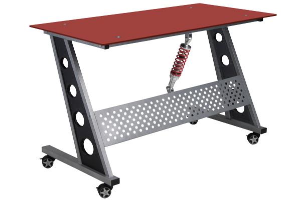 intro tech automotive pitstop compact desk