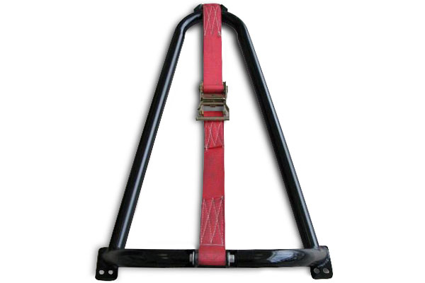 n fab universal bed mounted tire carrier