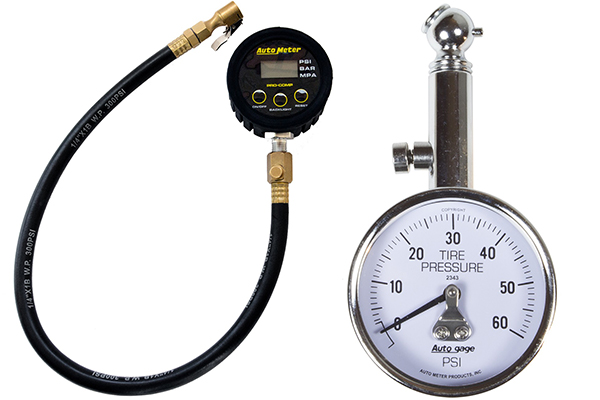autometer tire pressure gauge