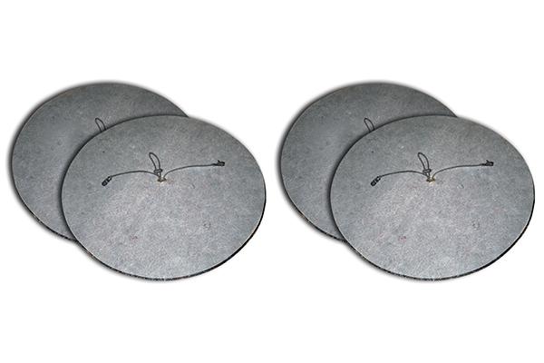kurgo wheel felts