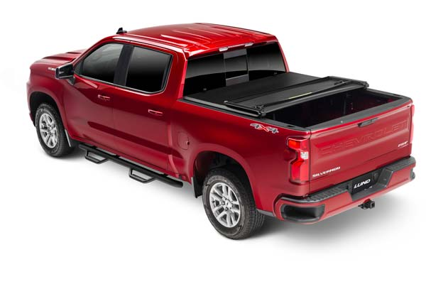 Lund Genesis Tri Fold Tonneau Cover Folding Truck Bed Cover Autoanything