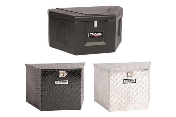 deezee triangle trailer toolbox