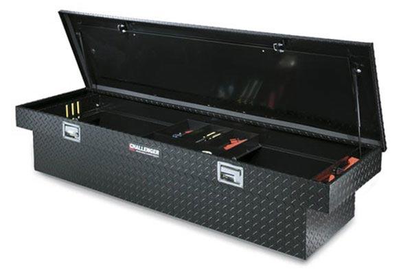 deflecta shield single lid deep truck toolbox