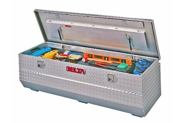 delta aluminum truck chest