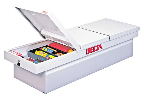 Delta Steel Gull Wing Crossover Truck Tool Box