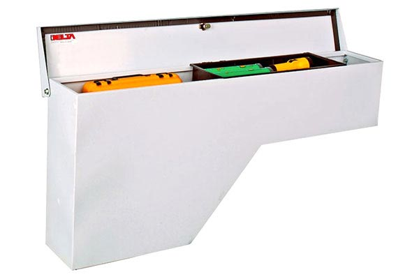 Delta Tool Box >> Delta Steel Wheel Well Tool Boxes - Side Mount Truck Bed ...