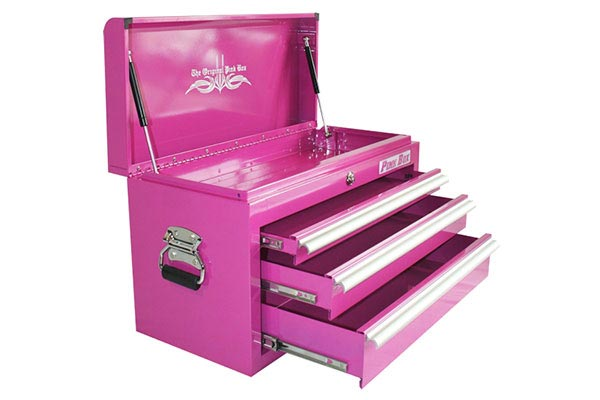 pinkbox bench top tool box