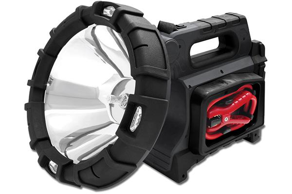 proz led spotlight portable power station