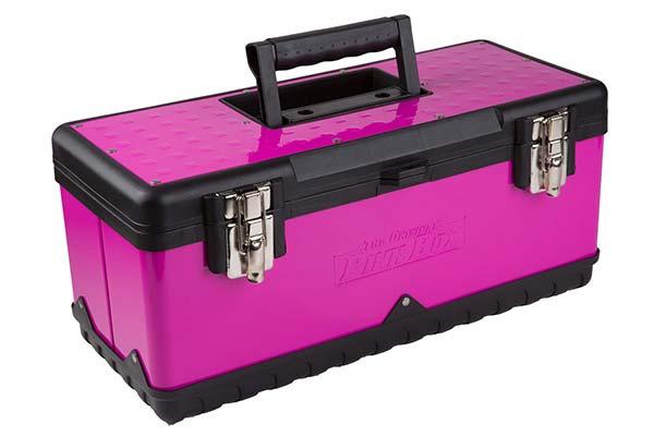 the original pink box portable toolbox hero