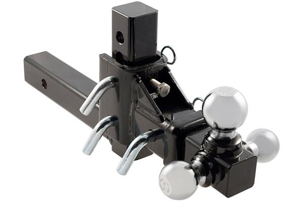 curt adjustable tri ball mount