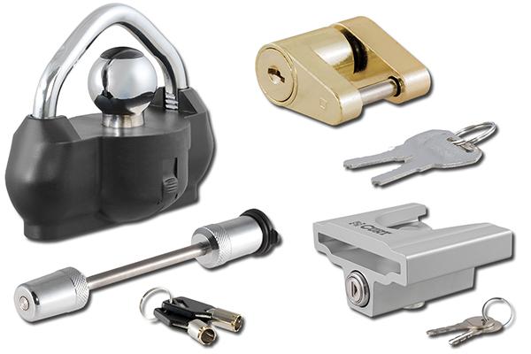 curt trailer coupler locks