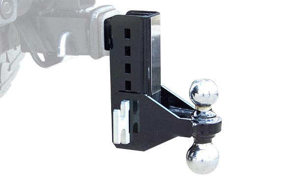 inventive xd adjustable hitch drop ball mount
