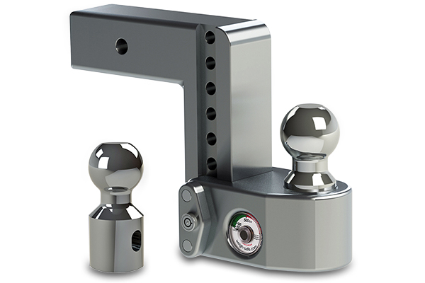 weigh safe adjustable trailer hitch ball mount