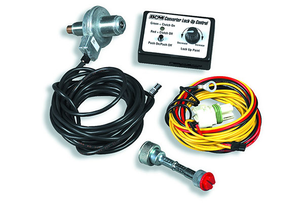 b and m torque converter lockup controller