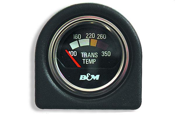 b and m transmission temperature gauge