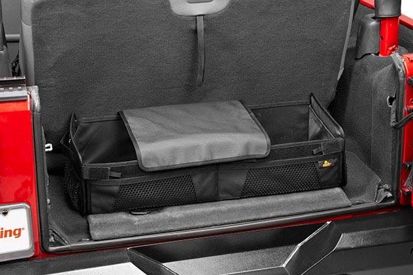 bestop roughrider soft storage cargo trunk organizer