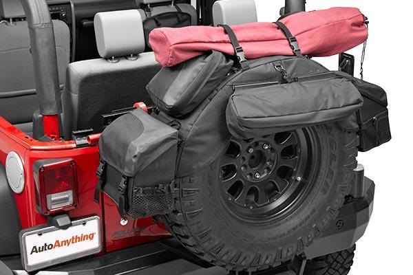 bestop roughrider soft storage spare tire organizer