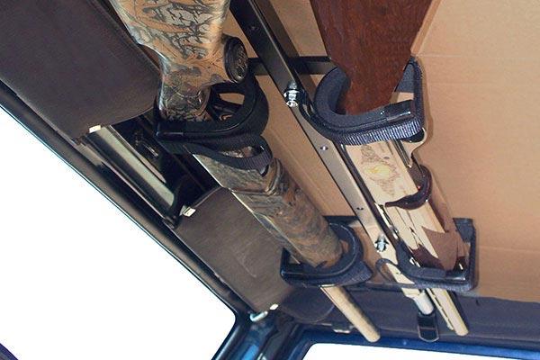 great day quick draw overhead gun rack