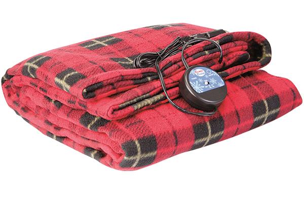heated travel blanket