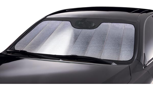 Windshield sun shade visor
