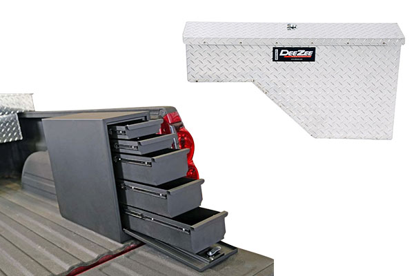 Tool Box For Truck: Dee Zee Wheel Well Truck Tool Box