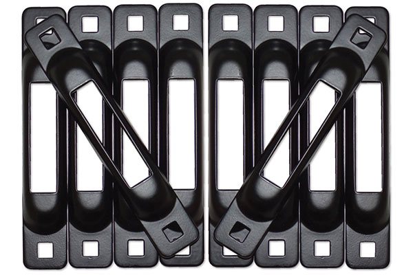 snap loc e track mounting plates