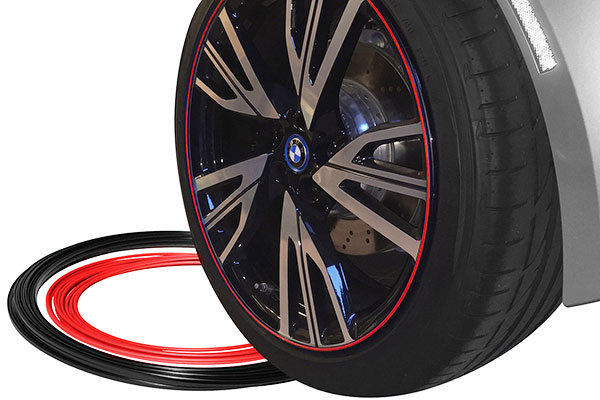 rimpro tec wheel bands red