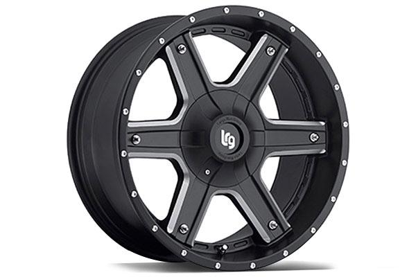 LRG101 Black Machined