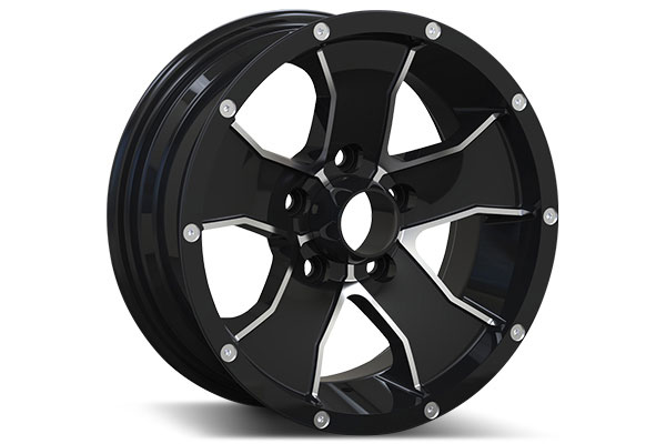 Trailer Wheels Rims : Ion alloy style trailer wheels  quot free shipping