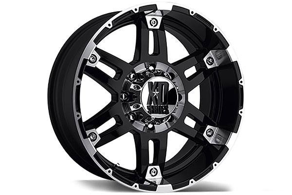 kmc xd series XD797 spy gloss black machined