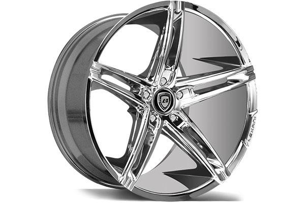 lexani r three chrome wheels