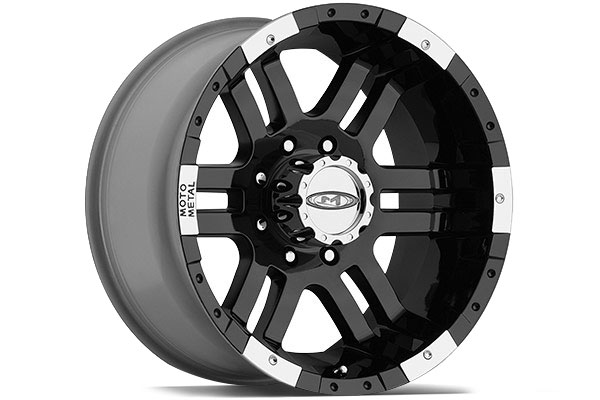 Moto Metal Mo951 Gloss Black Machined Wheels Ship Free