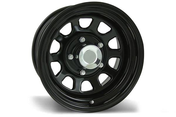 pro comp series 52 rock crawler steel wheels  3
