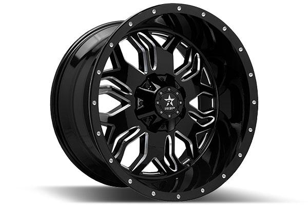 2013 Jeep Wrangler RBP Blade Wheels