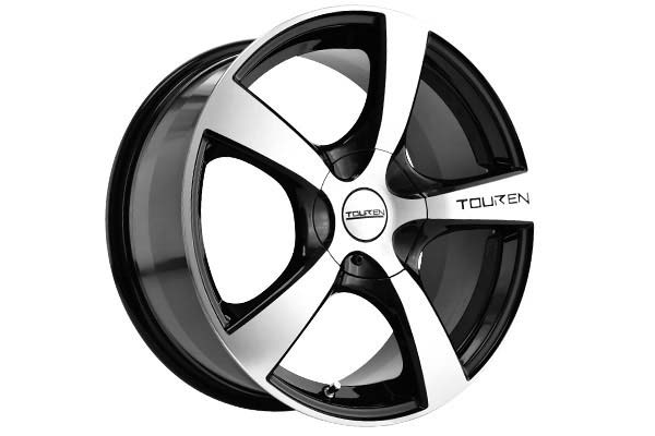 touren tr9 wheels matte black without machined lip