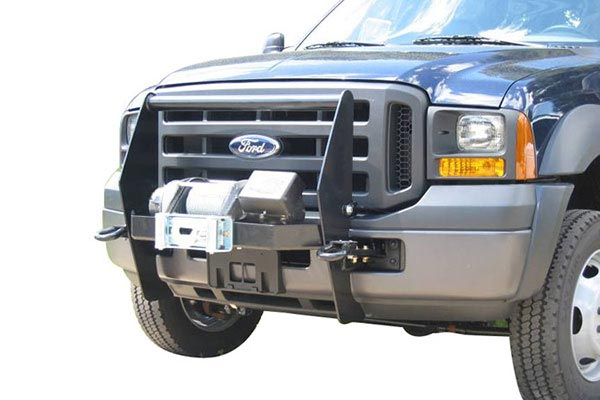 mile marker extreme winch mount