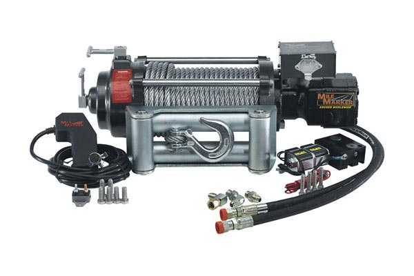 mile marker winch hi9000 hydraulic winch