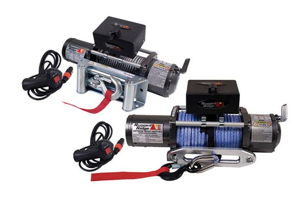 rugged ridge 8500lb winch