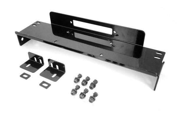 Rugged Ridge Winch Plate   Raised Winch Mounting Plates For Jeep Wranglers