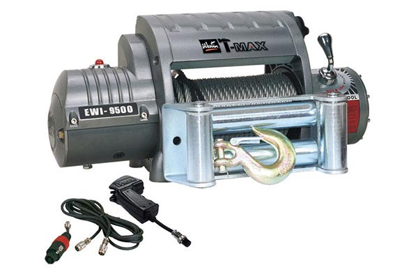 t max outback series ew9500 winch