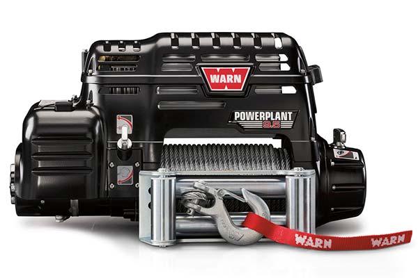 warn powerplant 9 5 winch 9500 lb capacity free shipping. Black Bedroom Furniture Sets. Home Design Ideas