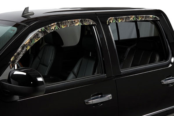 1998 Chevy C/K 1500 Stampede TAPEONZ Sidewind Camo Window Deflectors 6005-18 Front Set 6456-6005-18