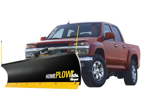 homeplow full hydraulic power angling snow plows