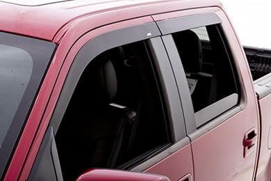Ford F-250 AVS Low Profile Matte Black Ventvisors