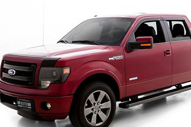 Ford F-250 AVS Matte Black Deflector Combo Kit