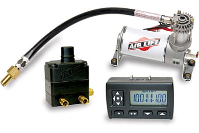 Cadillac CTS Air Lift Wireless Air Compressor System