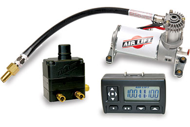 Chevy Suburban Air Lift Wireless Air Compressor System